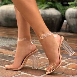 The glass slipper heels